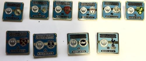 Manchester City Match Day Pins Not Played