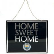 Manchester City Home Sweet Home Metal Sign