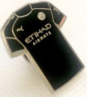 Manchester City Away Kit Pin Badge