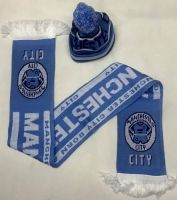 Manchester City Kids toddlers Hat & Scarf set