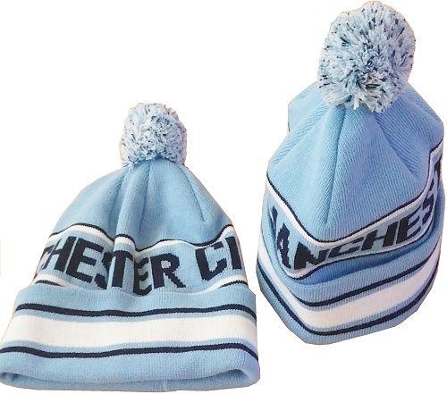 7e154d6bc23 Manchester City Bobble Pom Pom Hat sky blue - Mancitysales