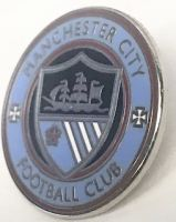 Manchester City St Marks Pin Badge