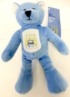 Manchester City Retro Beanie Bear
