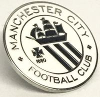 Manchester City Pin Badge St Marks Gifts