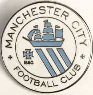 Manchester City 1880 St Marks Pin Badge