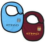 Manchester City baby bibs official football gifts