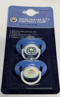 Manchester City Baby Soother 2 pk