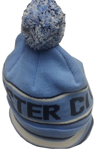 c9cec47d3cb Manchester City Pom Pom Sky Blue Hat. ×. Click to enlarge  Click to enlarge